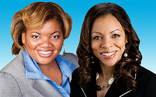 Latasha Gillespie, Caterpillar and Joy Fitzgerald, Rockwell Collins