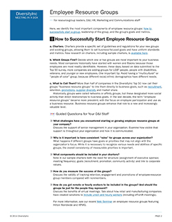 How to Successfully Start Employee Resource Groups