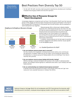 Effective Use of Resource Groups for Talent Development