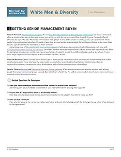 Getting Senior Management Buy-In