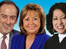 Roberto Goizueta, Susana Martinez, Sonia Sotomayor
