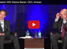 VIDEO: A Conversation With Warner Baxter, CEO, Ameren
