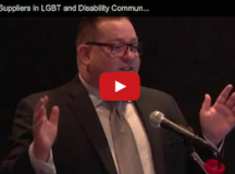 VIDEO: Finding Suppliers in LGBT and Disability Communities With NGLCC, USBLN