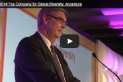 VIDEO: 2014 Top Company for Global Diversity: Accenture
