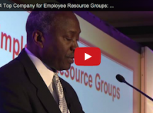 VIDEO: 2014 Top Company for Employee Resource Groups: Merck & Co.