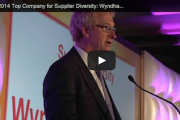 VIDEO: 2014 Top Company for Supplier Diversity: Wyndham Worldwide