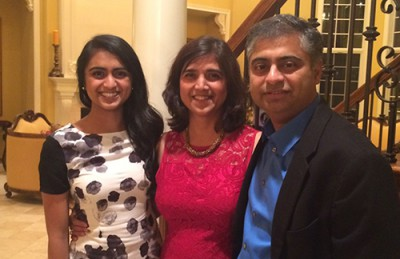 Dr. D. Sangeeta, Nielsen and family