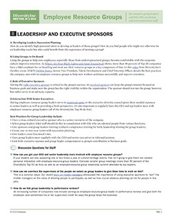Leadership and Executive Sponsors 250