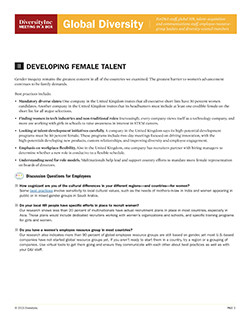 Developing Female Talent