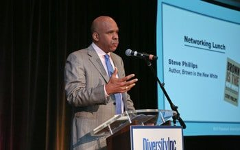 Steve Phillips Explains to Corporate Executives Why 'Brown is the New White'