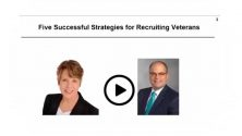 Webinar: 5 Successful Strategies for Recruiting Veterans
