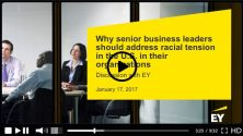 Webinar EY racial tensions