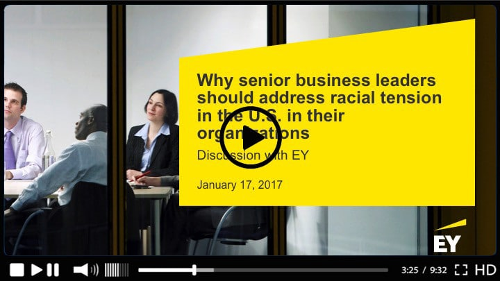 Webinar EY racial tensions