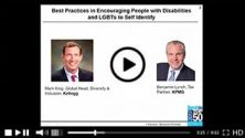 Best Practices in Encouraging People with Disabilities and LGBTs to Self Identify