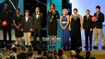Michelle Obama Honors Eunice Kennedy Shriver, Special Olympics at ESPYs