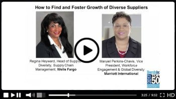 How to Find and Foster Growth of Diverse Suppliers
