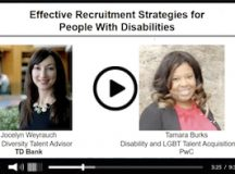 Effective Recruitment Strategies for People With Disabilities