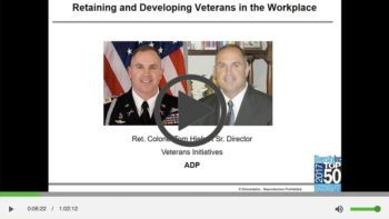 Retaining and Developing Veterans in the Workplace