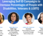 Leveraging Self-ID Campaigns to Increase Percentages of Professionals with Disabilities, Veterans & LGBTQ