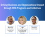 Webinar Recap: Driving Business and Organizational Impact through ERG Programs and Initiatives