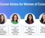 Webinar Recap: Career Advice for Women of Color
