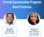 Webinar Recap: Formal Sponsorship Program Best Practices